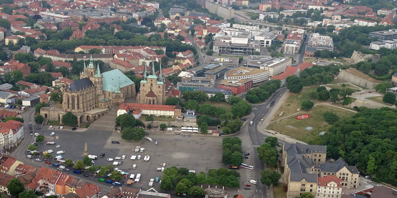 Erfurt Dom und Petersberg