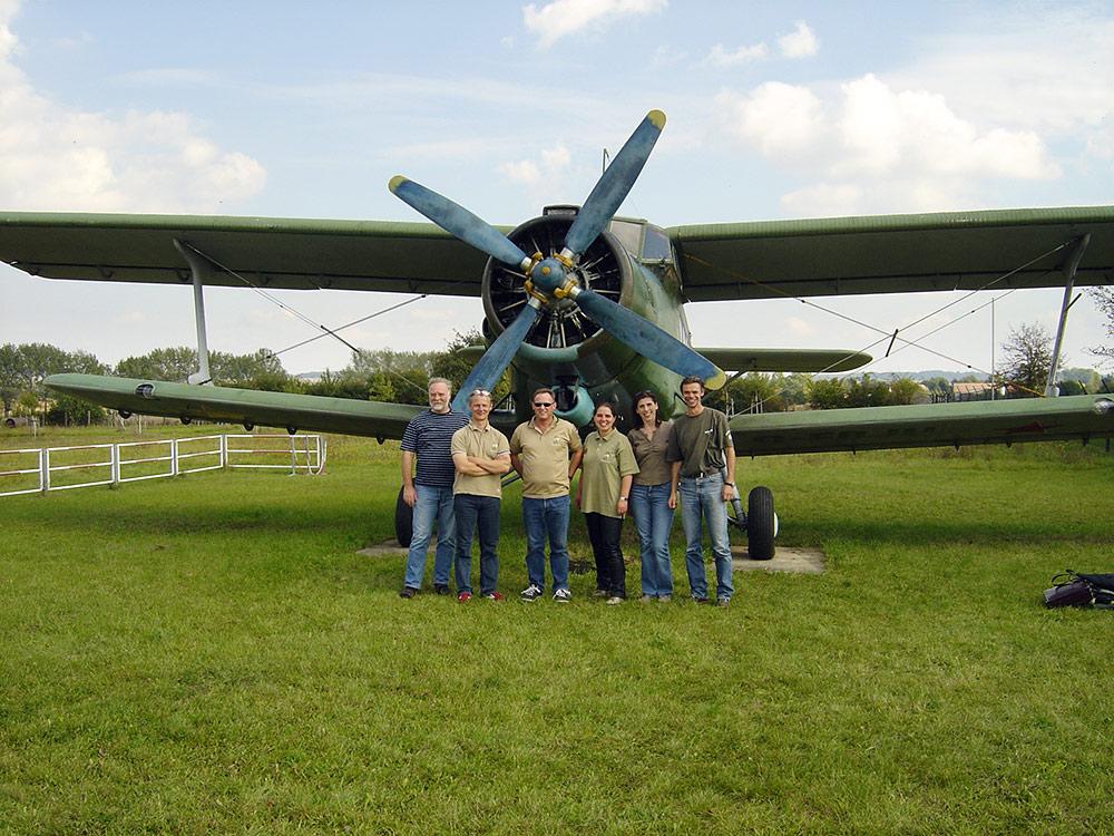 Rundflug mit der AN 2 - Team