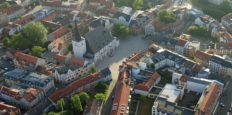 Aussicht auf Weimar
