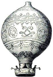 Europäische Ballonfahrt